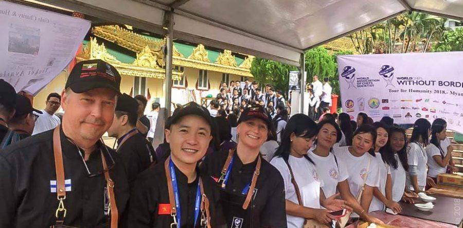 World Chefs Without Borders – hyväntekeväisyystapahtuma kokosi keittiömestarit Myanmariin