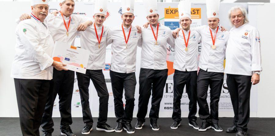 Suomen kokkimaajoukkueelle kuudes sija – Hot Kitchenissä kultatason suoritus